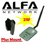 Alfa AWUSO36NH High Gain USB Wireless G / N Long-Rang WiFi Network Adapter