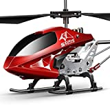 Remote Control Helicopter, S107H-E Aircraft with Altitude Hold, One Key take Off/Landing,...