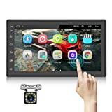 Podofo Double Din Android Car Stereo Radio with Bluetooth GPS 7 Inch HD Touchscreen in...