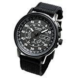 Lad Weather Radio Controlled Watch Solar Powered Perpetual Calendar Multi Timezone Battery...