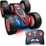 Force1 Cyclone Remote Control Car for Kids - Double Sided Fast Off Road Stunt Car, RC Rock...