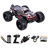 1:10 Scale Remote Control Car Truck, 80+ KM/H High Speed RTR RC Truck, 2.4GHZ Radio...