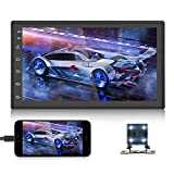 Android Double Din Car Stereo with GPS Navigation Bluetooth FM Radio Reciever 7 Inch...