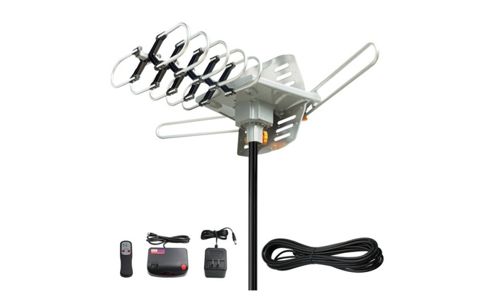 Polaroid outdoor Amplified HDTV Antenna
